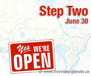 Ontario to enter Step Two reopening on June 30 - The Morrisburg Leader