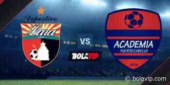 Qué canal transmite Deportivo Lara vs. Academia Puerto Cabello por la Liga Futve - Bolavip