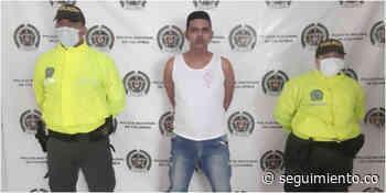 Capturan a alias 'Dieguito' implicado en fuga de presos, en El Banco - Seguimiento.co