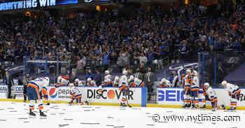 Islanders Lose Game 7, Sending Lightning to Stanley Cup Finals