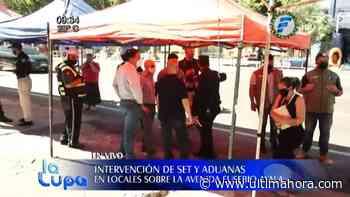 Operativo interinstitucional para verificar a comerciantes sobre Eusebio Ayala - ÚltimaHora.com