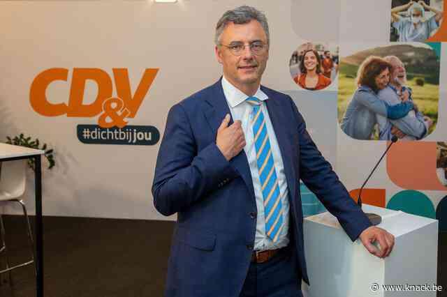 CD&V-voorzitter Coens wil Oosterweelwerf laten stilleggen tot er duidelijkheid is over impact PFOS