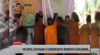 Comunidad Ashaninka aplica castigo a congresista en Satipo - Libero.pe