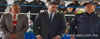 Omar García Harfuch y Guadalupe Pintor inauguran gimnasio de la policía capitalina - ESTO