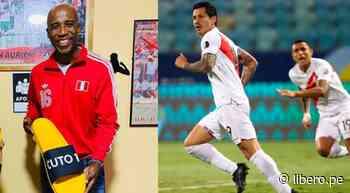 """La emoción de Cuto Guadalupe tras el gol de Perú: """"Te amo, Lapadula"""" - Libero.pe"""