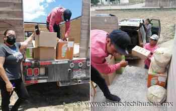 Intensifica DIF de Guadalupe y Calvo entrega de apoyos a familias vulnerables - El Diario de Chihuahua
