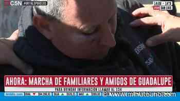 Disturbios en la marcha de familiares y amigos de Guadalupe Lucero - Minutouno.com