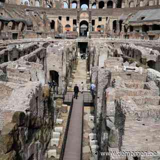 'Monument binnen een monument': oude gangen en kamers van Colosseum nu ook open voor publiek