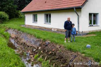 Hochwasser flutete gleich zweimal ihr Haus: Unterstützung für Familie aus Meerane - TAG24