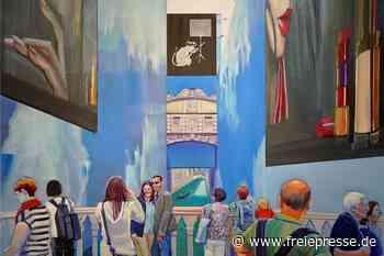 """Künstlerische Weltreise in der Galerie """"Art In"""" in Meerane - Freie Presse"""