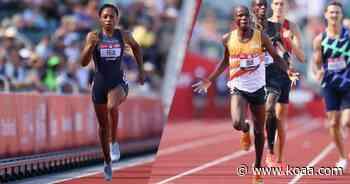 Felix makes 200m final, Bor defends U.S. title at Trials - KOAA.com Colorado Springs and Pueblo News