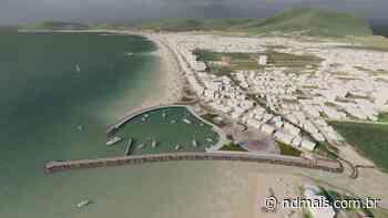 Empresários apresentam projeto de molhes do Perequê, em Porto Belo - ND Mais