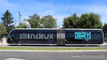 Pays Basque - Sud Landes : nouvelle ligne T2 entre Tarnos et Bayonne | transbus.org - TRANS'BUS