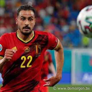 Live - EK 2021. Zieke Nacer Chadli niet mee naar Sevilla voor wedstrijd tegen Portugal