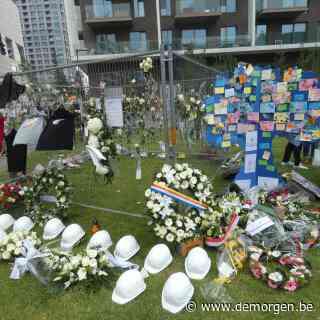 'Het is geen 9/11, natuurlijk, maar het is toch een soort krater': een week na het ingestorte schoolgebouw in de hippe Antwerpse wijk Nieuw Zuid
