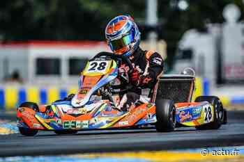 Coulommiers : Antoine Poulain 1er du championnat d'Ile-de-France de karting avant la dernière manche - actu.fr