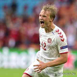 Live - EK 2021. Denemarken plaatst zich na indrukwekkende zege tegen Wales voor kwartfinale: 4-0