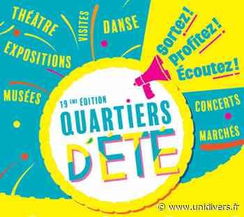 Quartiers d'été – Concert : Cobbles Oloron-Sainte-Marie samedi 24 juillet 2021 - Unidivers