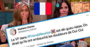 Friends the Reunion : la diffusion de l'épisode spécial en VF sur TF1 divise les internautes (39 tweets) - Hitek.fr