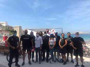 Val-d'Oise. Deux policiers d'Enghien-les-Bains rallient Marseille à vélo pour soutenir les patients atteints d'une maladie rare - actu.fr