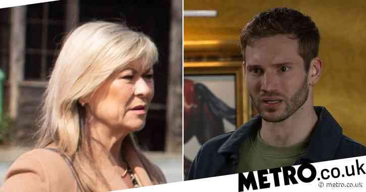 Emmerdale spoilers: Kim Tate cuts Jamie off forever in final revenge