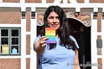 Sie zeigt Diskriminierung die Regenbogenkarte - Jork - Tageblatt-online