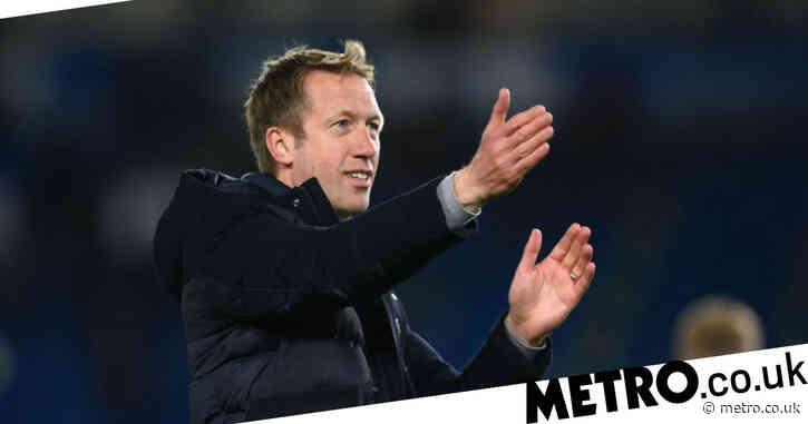 Brighton boss Graham Potter would reject vacant managerial job at Tottenham