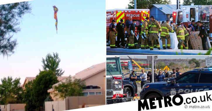 Hot air balloon crash kills leaves five dead in USA