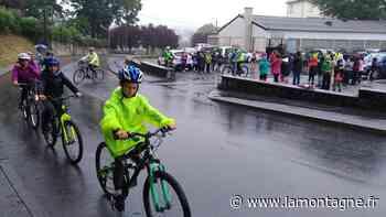 16 km à vélo entre Ussel et Meymac pour les CM2 de l'école Jean-Jaurès d'Ussel (Corrèze) - La Montagne