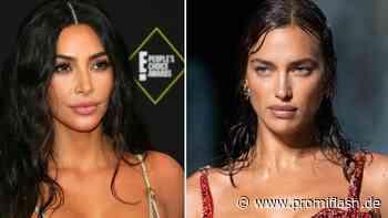 So sehr ähneln sich Kim Kardashian und Irina Shayks Styles - Promiflash.de