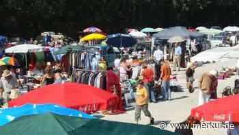 Erste Flohmärkte nach Corona-Pause in Bad Tölz-Wolfratshausen - Merkur Online