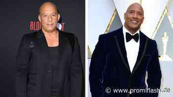 Endlich! Vin Diesel äußert sich zu seinem Zoff mit The Rock - Promiflash.de
