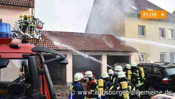 Brand beschädigt zwei Wohnhäuser in Riedlingen - Augsburger Allgemeine