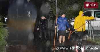 Region Riedlingen wird vom Unwetter getroffen - Schwäbische