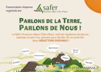 BRIANCON : Concertation citoyenne SAFER Territoire Briançonnais, le 1er juillet à 18h - La lettre économique et politique de PACA - Presse Agence
