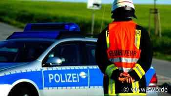 Blaulicht Esslingen: Unfall auf B312 zwischen Neckartailfingen und Aich – 85-Jähriger übersieht Rückstau - SWP