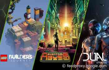 13 New GeForce Now games added this week