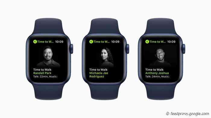 Apple Fitness+ is getting new Time To Walk episodes June 28th