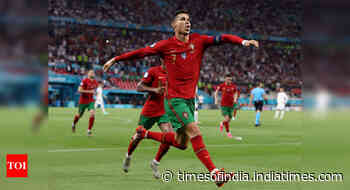 Euro 2020: Ronaldo double rescues Portugal in dramatic draw with France - Times of India