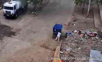 Sullana: cámaras de seguridad de Bellavista registran a vecinos arrojando basura en la vía pública - El Regional