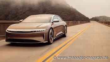 Frank Lindenberg: Daimler-Veteran wird Aufsichtsrat für Lucid Motors - manager magazin