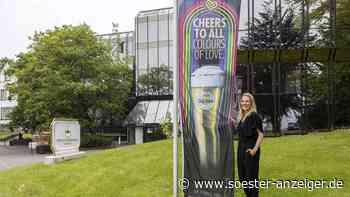Warsteiner Brauerei hisst Regenbogenfahnen und wirbt für Akzeptanz, Toleranz und Diversität - Soester Anzeiger