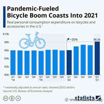 American cycling spending continues amidst COVID-19 pandemic   World Economic Forum - World Economic Forum