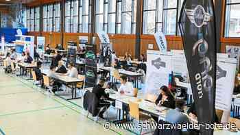 Straubenhardt - Bewerbungsmappen können zu Hause bleiben - Schwarzwälder Bote