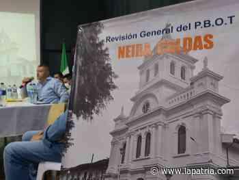 Neira volverá a revisar su Plan Básico de Ordenamiento Territorial, después de 21 años - La Patria.com