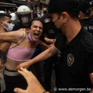 Verboden Gay Pride in Istanbul leidt opnieuw tot grote politie-actie
