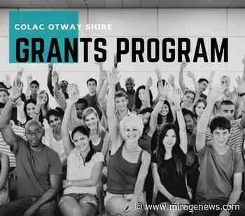 Colac Otway announces successful grant recipients - Mirage News