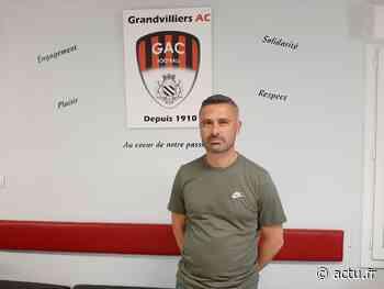 Au club de football de Grandvilliers, Cédric Jacquet fait son retour comme entraîneur - actu.fr