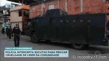 Ação da Polícia Civil prende sete pessoas na Mangueirinha, em Caxias - Record TV