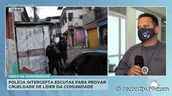Polícia interceptou ligações para investigar tráfico Mangueirinha (RJ) - Record TV